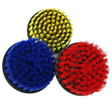 "5"" Drill Brush 3 Piece Set Full Bristle - Includes Heavy, Medium, Light Brushes"