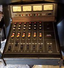 Vintage Teac 2A Audio Mixer & MB-20 Meter Bridge 6-Track Multitrack Series