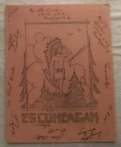 Vintage Civilian Conservation Corps Newsletter Escoheag Rhode Island Oct 1938