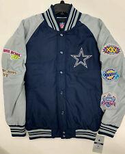 Dallas Cowboys Men's 5 Time Super Bowl Champions Pro Bowl Varsity Jacket