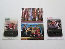 Mixed Lot of Star Trek Promo Trading Cards