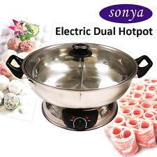 Sonya Shabu Shabu Hot Pot Electric Mongolian Hot Pot W/DIVIDER SYHS-30