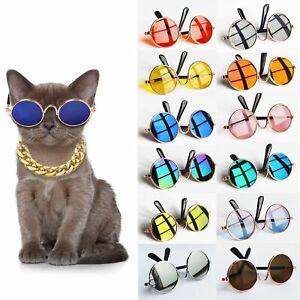 Reflection Vintage Photos Props Eye-wear Dog Pet Glasses Cat Glasses Sunglasses