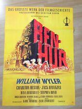 Filmposter * Kinoplakat * A1 * Ben Hur * Erstaufführung 1960 * MGM * W. Wyler