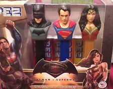 Batman v Superman Dawn of Justice PEZ Dispenser Batman Superman Wonder Woman