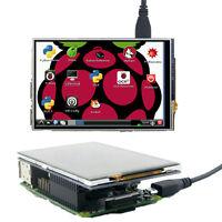 "4"" TFT SPI Resistive Touch Screen Display Module LED for Raspberry Pi Model B B+"