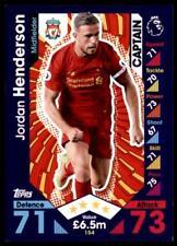 Match Attax 2016-2017 Jordan Henderson Liverpool Captain No. 154