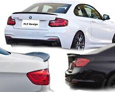 lack Schwarz für BMW m f22 performance stil Heckspoilerlippe ABS Carstyling