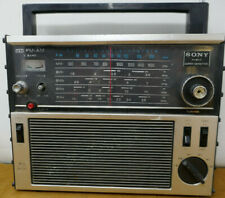 SONY TFM-1600 AM/FM AND 4 SHORTWAVE BANDS - PORTABLE - WORKS WELL
