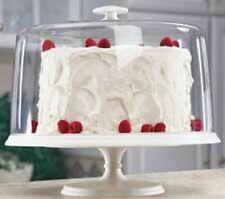 New in Box Wilton Unbreakable Polycarbonate Pedestal Cake Pan 307-702 discontinu