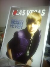 Justin Bieber on cover of I Love Las Vegas magazine (new)