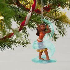 2017 Hallmark Moana Waialiki Disney Ornament  Sea Heroine  Girl Power  Maui  Pua