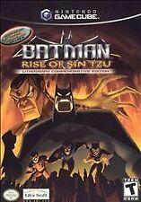 Batman: Rise of Sin Tzu Lithograph Commemorative Edition (Nintendo GameCube, 2003)