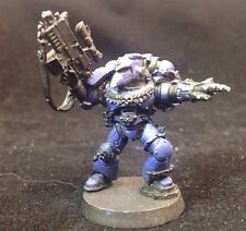 Space Marine Sternguard Pointing Bolter Metal Pewter Primed