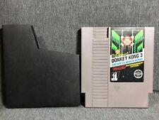 NINTENDO (NES) DONKEY KONG 3 VIDEO GAME