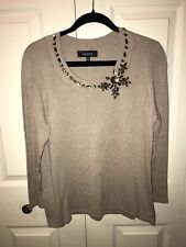 Jones Wear Light Weight Sweater New With Tags XL