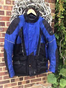 FRANK THOMAS Mens Textile Motorbike Motorcycle Jacket XXL