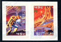 2000 Space  - Pair of Booklet Stamps