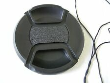 67mm Center Pinch Front Lens Cap with Cap Keeper String for Mamiya, Nikon, Canon