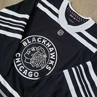 Rare Adidas Chicago Blackhawks Winter Classic Men's Size 52 Alternate Jersey 🔥