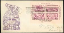 5/9/36 RALPH DYER TIPEX Cachet, Monarch Env, 3rd INT'L PHILATELIC EXPO, #778 FDC