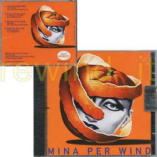"""MINA """"PER WIND"""" RARO CD PROMO - JIMI HENDRIX BOB DYLAN (SIGILLATO)"""