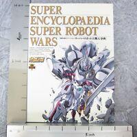 SUPER ROBOT WARS ENCYCLOPEDIA Poster Daijiten Art Book