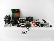 5x analógico cámara analógica Camera balda Praktica Revue perfekta etc. + accesorios