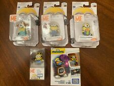 Despicable Me Minions 6-Item Combo Pack (New): 4 Figures + 1 Tote Bag + 8GB USB