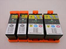 Ink Cartridge for Dell V715W P713W V515W V313W Series 21 22 23 24 Black CLR 4pK