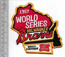 Beer Baseball Milwaukee Braves & Miller High Life World Champions Promo Patch