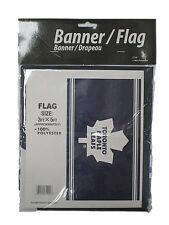 NEW NHL Toronto Maple Leafs Banner Flag New in Package 3FT X 5FT