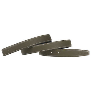 24mm Replacement Belt Strap Genuine Leather Replacement Belt