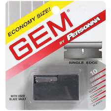 Personna Gem Super Stainless Steel Refill Blades, 10 ct.