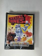 NEW Sealed With Damaged box Crystal Mines II 2 for Atari Lynx System     N24