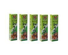 Quantità! 5 Tubetti Wasabi Pasta Piccante 5 X 43g Sushi Verde Salsa Wasabi