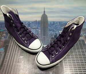 Converse Chuck Taylor All Star Pro High Top Grand Purple Mens Size 9 166021c New