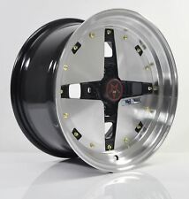 4PCS JUN HOSHINO 15 inch Mag Wheels Rim 4X100 Alloy wheel Rims Car BMF-1
