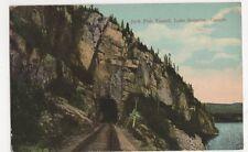 Canada, Jack Fish Tunnel, Lake Superior Postcard, B250