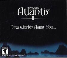 Beyond Atlantis II (PC, 2001) [3 Disc Set]