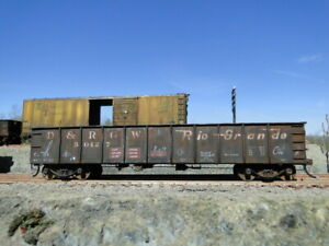 HO Accurail Custom Hand Weathered Rolling Stock DRGW gondola 50427