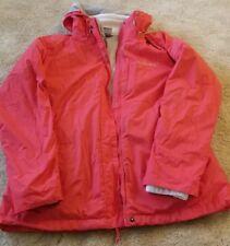 Columbia 3 in 1 Interchange Ski Warm Winter Jacket- Coral- Women's Size Large
