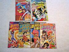 Dirty Pair, Dominion, Lensman, Area88, Manga Comics Lot, Ex Cond., Ships Free.