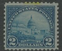 [X]  US #572 MNH OG   1923  $2 Flat Press Regular ~ Perf 11X11...Free Shipping!