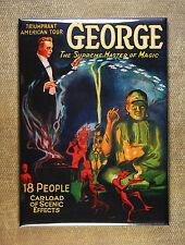 Grover George the Supreme Master of Magic Magnet - Magician Mystic Illusion