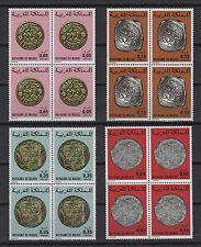 monnaies anciennes  années 70 Royaume du Maroc 16 timbres neufs /T549