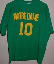 vintage 1980s Notre Dame Fighting Irish football jersey size Large