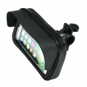 Waterproof Motorcycle Motorbike Scooter Mobile Smart Phone Holder Bag Case