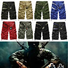 Men's Casual Work Combat Army Shorts Cargo Cool Pants Hiking Sports Trousers
