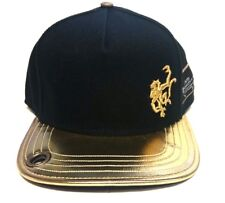 Red Monkey Flat Visor Old Gold Adjustable Snap Back Cap Hat RM1060